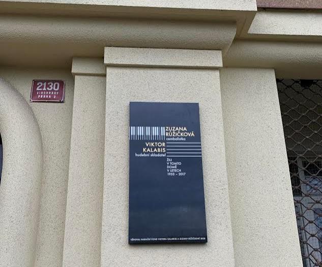 City of Prague Memorial Plaque